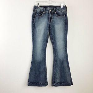 AEO Stretch Modern Flare Jeans Size 6